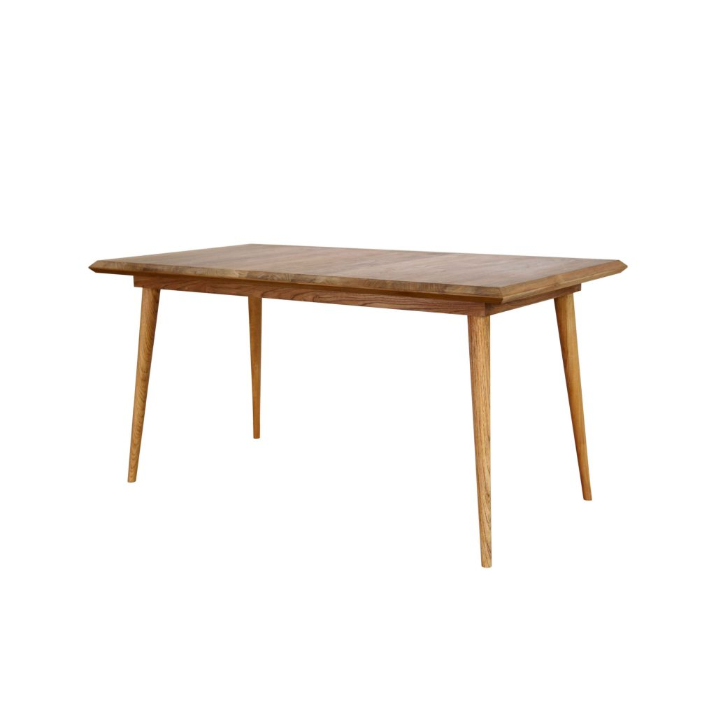 Hansen table 150 80 teak vintage for Table carree 150 x 150