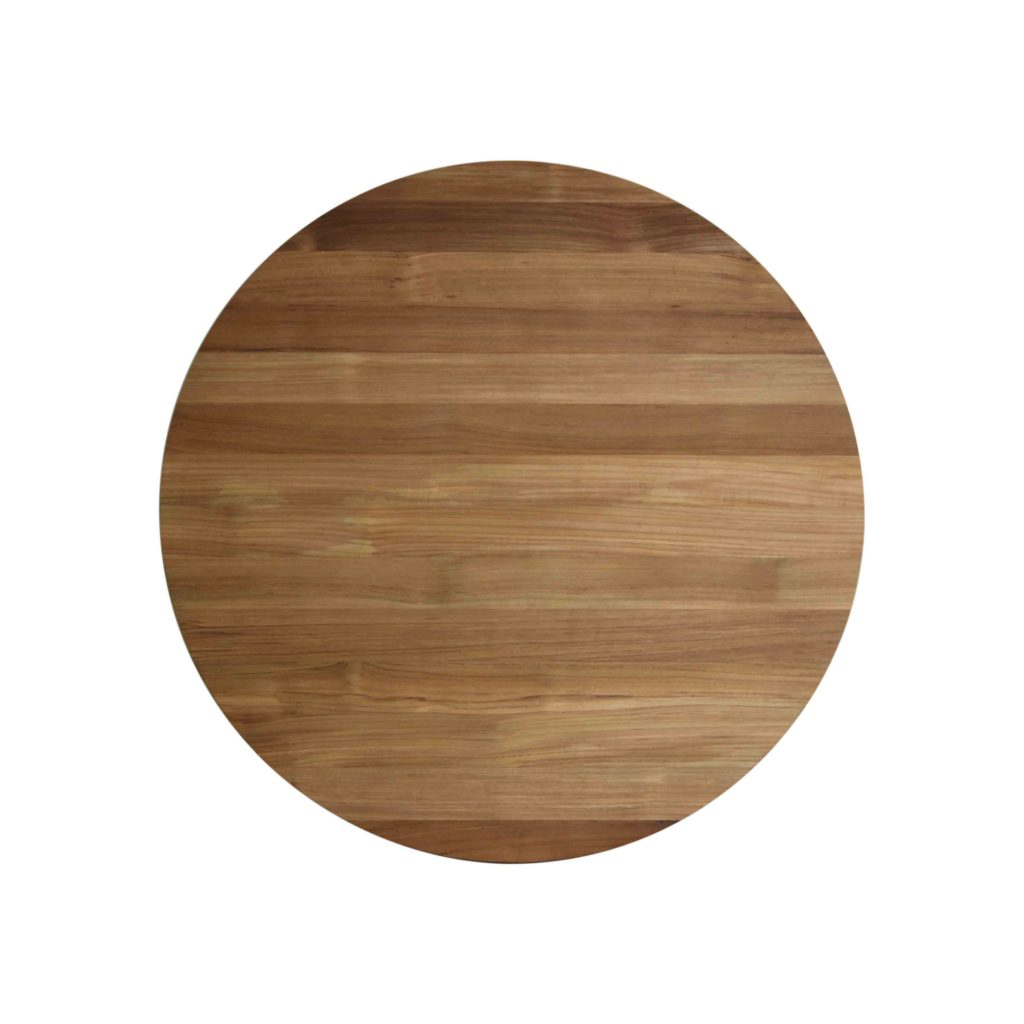 Danish Vintage Retro Teak Solid Round Table Diameter 90 Cm Grade A With Oil  Finished